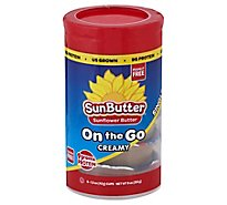 SunButter Sunflower Butter On The Go Single Cups Creamy - 6-1.5 Oz
