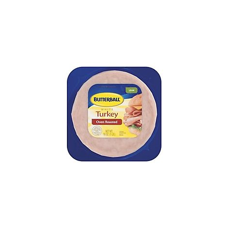Butterball Oven Roasted Turkey Well Pack Lean - 16 Oz