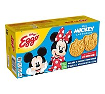 Eggo Disney Mickey Mouse Frozen Waffles Homestyle - 12.3 Oz