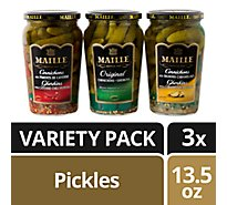 Maille Cornichons With Cayenne Chili Peppers - 13.5 Fl. Oz.