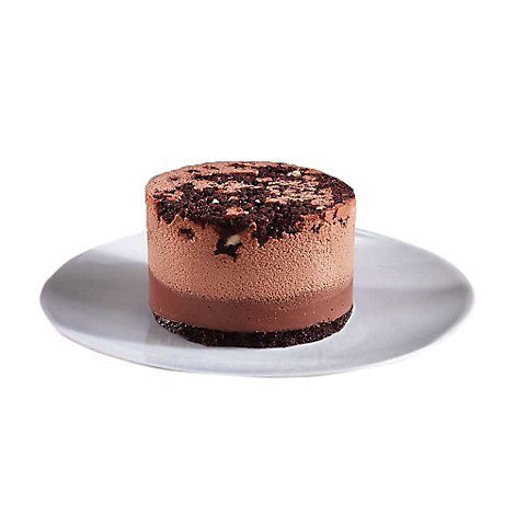 Bakery Cake Mousse 4 Inch Chocolate - Each