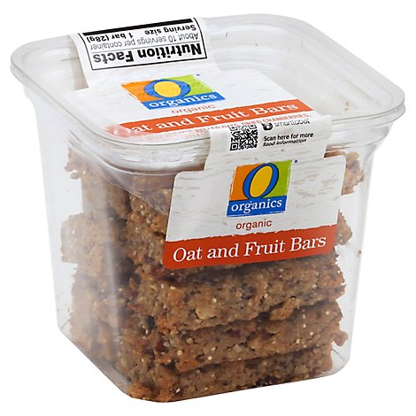 O Organics Organic Bites Oat And Fruit - 10 Oz
