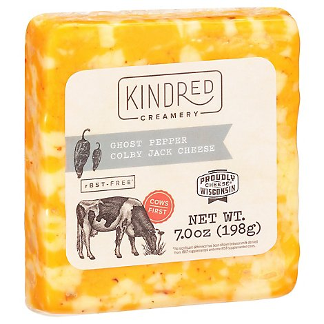 Kindred Creamy Cheese Colby Jack Ghost Pepper - 7 Oz