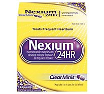 Nexium Acid Reducer Capsules 24 Hr 20 mg Delayed-Release Clear Minis - 14 Count