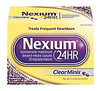 Nexium Acid Reducer Capsules 24 Hr 20 mg Delayed-Release Clear Minis - 42 Count