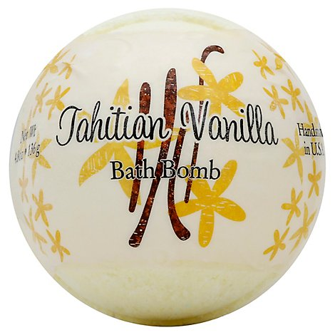 Primal Elements Bath Bomb Tahitian Vanilla - 4.8 Oz