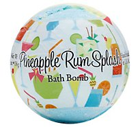 Pineapple Rum Splash Bath Bomb - 4.8 Oz