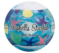Seashells And Starfish Bath Bomb - 4.8 Oz