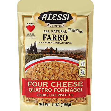 ALESSI Autentico Farro Four Cheese Pouch - 7 Oz