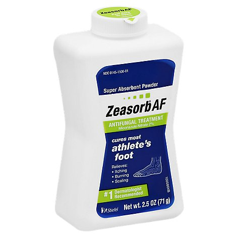 Zeasorb Antifungal Treatment Powder Super Absorbent - 2.5 Oz