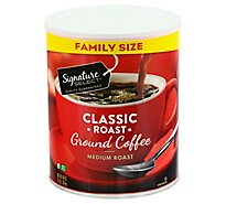 Signature SELECT Coffee Ground Medium Roast Classic Roast Family Pack - 48 Oz