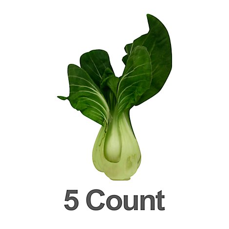 Bok Choy Baby - 5 Count