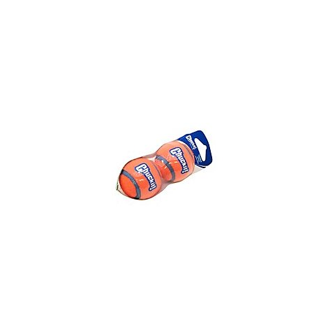 Chuckit! Dog Toy Tennis Ball Small Pack - 2 Count