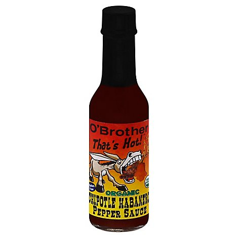 O Brother Hot Sauce Chptl Habnero Om - 5 Oz