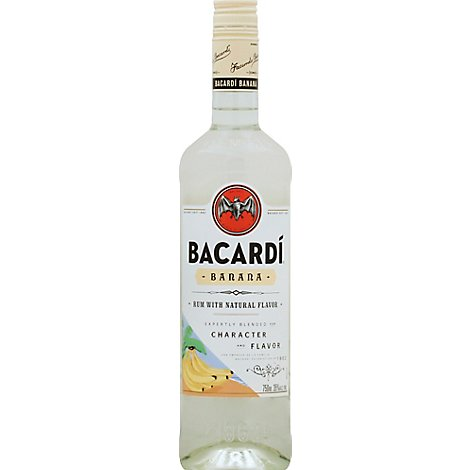 Bacardi Rum Banana 70 Proof - 750 Ml
