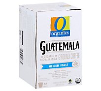 O Organics Coffee Organic Single Serve Cups Light Roast Guatemalan - 12-0.39 Oz