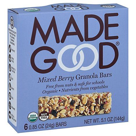 Made Good Mixed Berry Granola Bars - 5.1 Oz