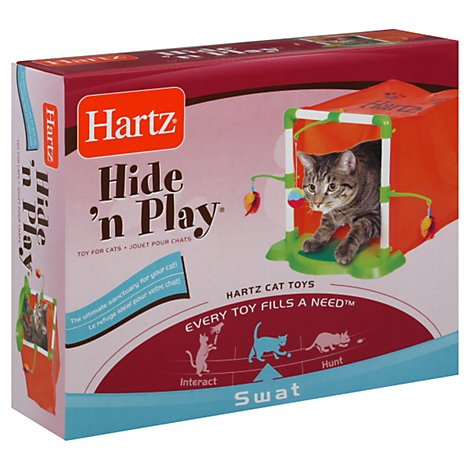 Hartz Hide n Play Toys for Cats Box - Each