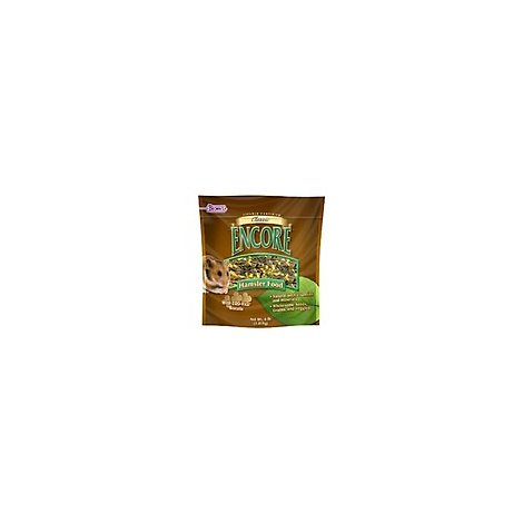 Browns Encore Pet Food Natural Hamster Food Classic Bag - 4 Lb