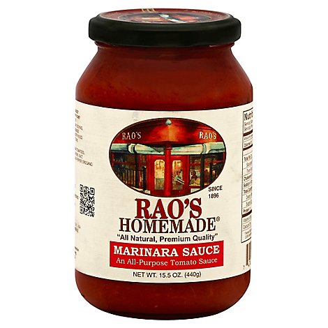 Raos Homemade Sauce Marinara Jar - 15.5 Oz