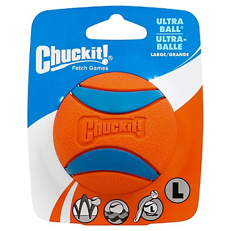 Chuckit! Dog Toy Ultra Ball Large Pack - Each