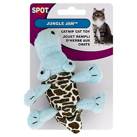 SPOT Cat Toy Jingle Jam Spotted Plush - Each