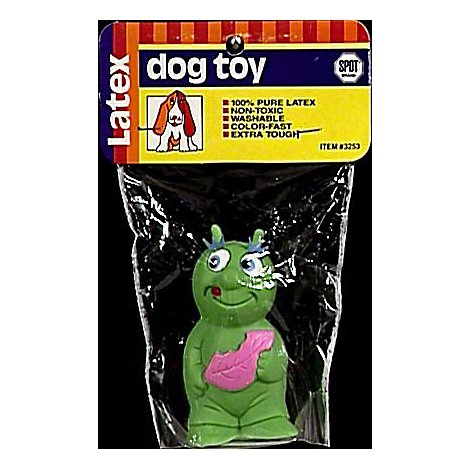 SPOT Dog Toy Latex Squeak Lady Bug - Each