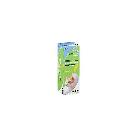 Van Ness Cat Pan Liners Drawstring Extra-Giant DL7 Box - 6 Count