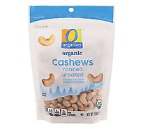 O Organics Cashews Roasted Unsalted - 10 Oz