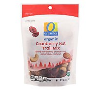 O Organics Organic Trail Mix Cranberry Harvest Pouch - 10 Oz