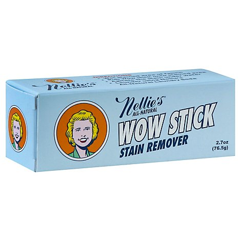 Nellies All Natural Wow Stick Stain Remover - 2.7 Oz