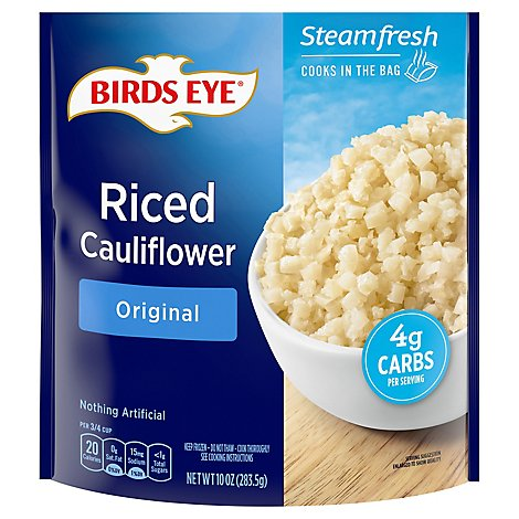 Birds Eye Steamfresh Veggie Made Cauliflower Riced Original - 10 Oz