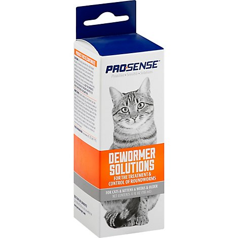 Pro-Sense Dewormer Solutions For Cats & Kittens Box - 4 Oz