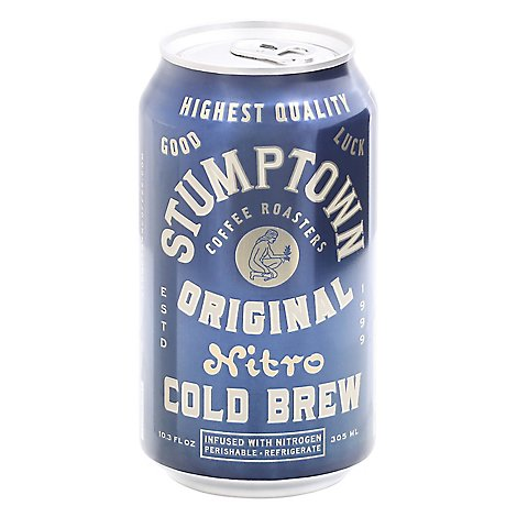 Stumptown Coffee Roasters Cold Brew Nitro - 10.3 Fl. Oz.