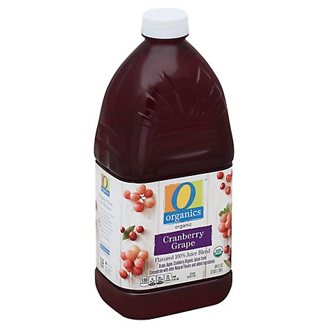 O Organics Organic Flavored Juice Blend Cranberry Grape - 64 Fl. Oz.
