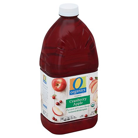 O Organics Organic Flavored Juice Blend Cranberry Apple - 64 Fl. Oz.