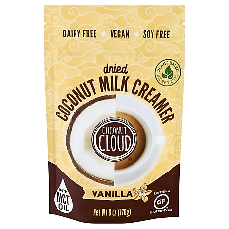 Coconut Cloud Creamer Dried Coconut Milk Vanilla - 6 Oz