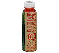 Wtrmln Ginger Cold Pressed Juice - 12 Fl. Oz.