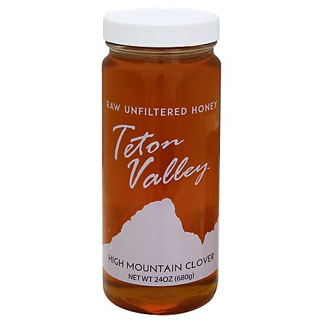 Teton Valley Clover Honey - 24 Oz