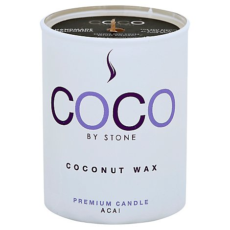 Coconut Candle 2.5oz Acai - 2.5 Oz