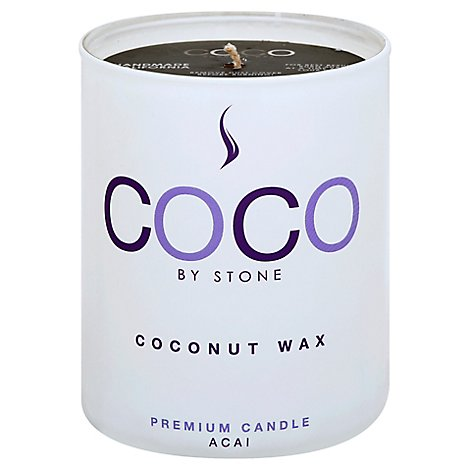 Coconut Candle 11oz Acai - 11 Oz