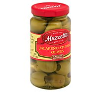 Mezzetta Olives Jalapeno Stuffed - 6 Oz
