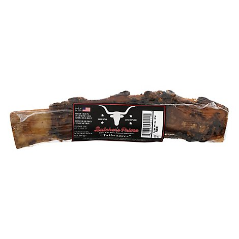 Butcher Shoppe Dog Bone Hickory Smoked Beef Tail Wagger - Each