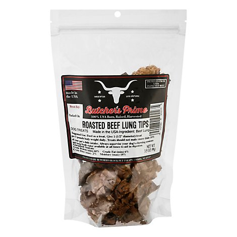 Butchers Block Pet Treats Roasted Beef Tips - Each
