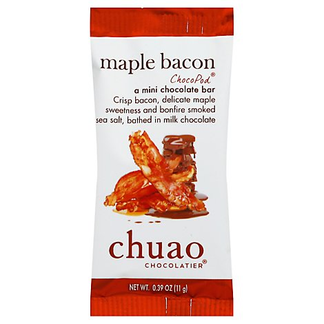 Chuao Pod Baconluxious Milk Chocolate - 0.39 Oz