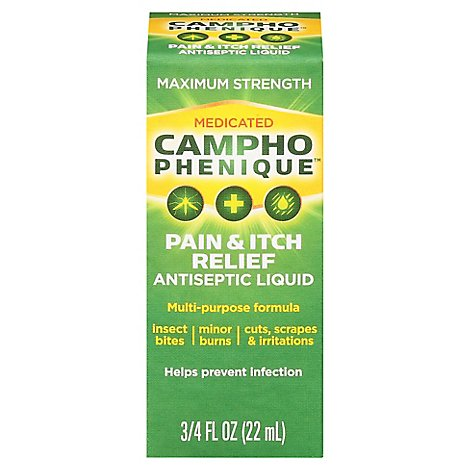 Campho-Phenique - .75 Fl. Oz.