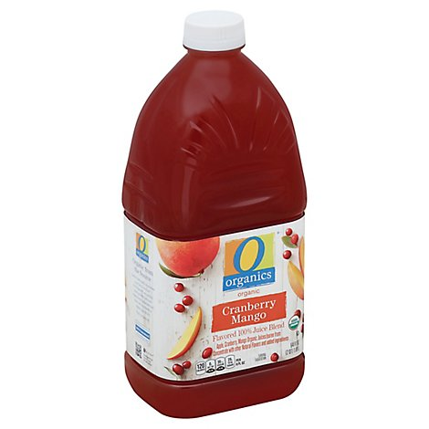O Organics Organic Flavored Juice Blend Cranberry Mango - 64 Fl. Oz.