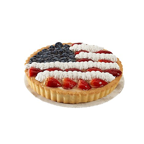 Bakery Pavilions Tart Fruit Flag With Berries Butter - Each