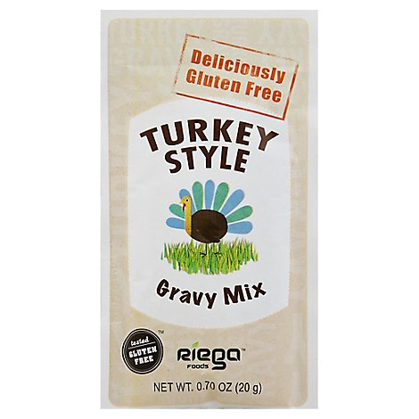 Riega Deliciously Gluten Free Turkey Style Gravy Mix - .7 Oz
