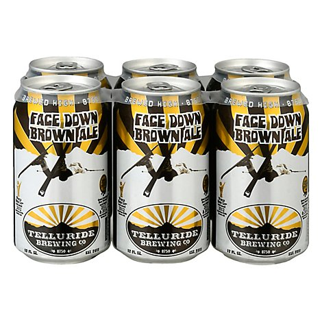 Telluride Face Down Brown In Cans - 6-12 Fl. Oz.